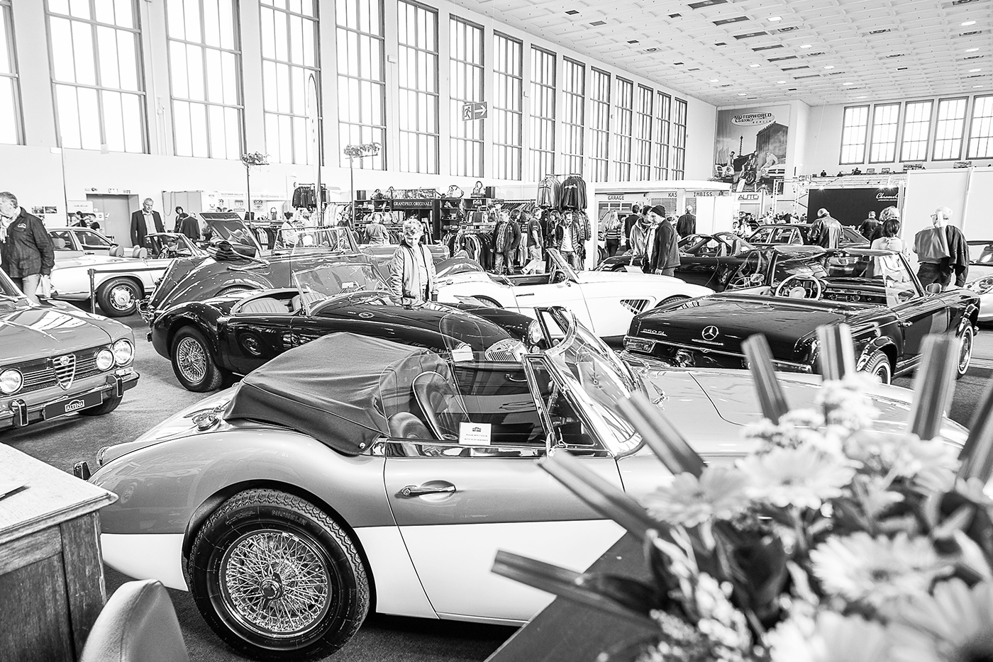 (DE) Oldtimer-Messe in Berlin